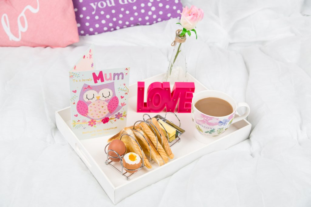 Mothers Day Breakfast in Bed