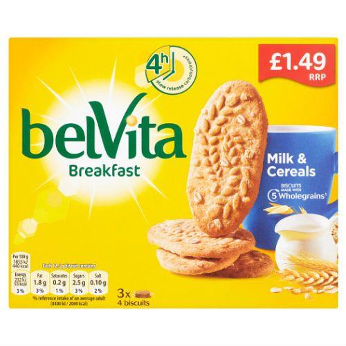 BELVITA MILK & CEREAL BREAKFAST BISCUITS 150G