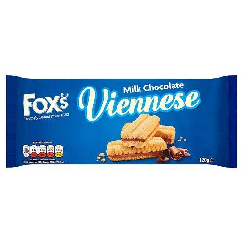 Fox's Viennese Chocolate Melts 120g