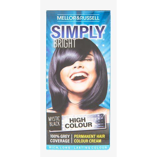 Simply Bright Hair Colour Mystic Black 110g