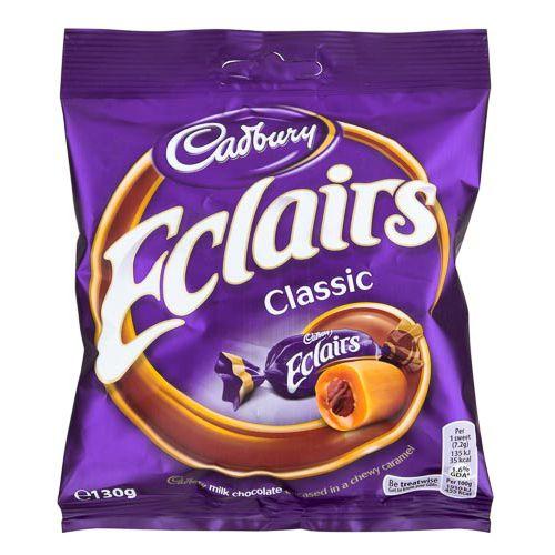 CADBURY CHOCOLATE ECLAIRS CLASSIC 130G
