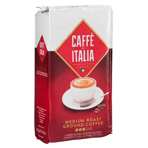 CAFE DI ITALIA ROAST & GROUND COFFEE 250G