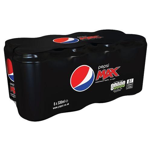 Pepsi Max 8x330ml