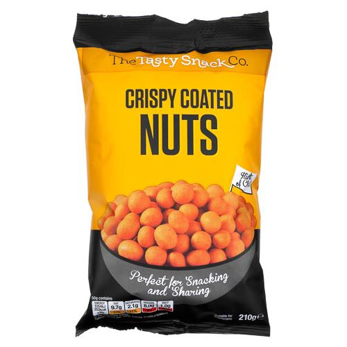 CRISPY COATED NUTS 210G