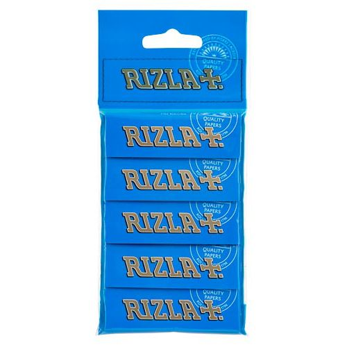 Rizla Blue Rolling Papers 5 Pack