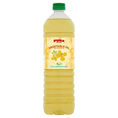 PURA VEGATABLE OIL 1LTR