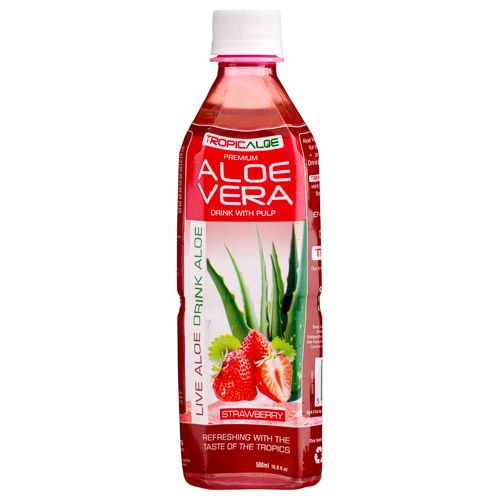 Tropicaloe Aloe Vera Drink With Strawberry 500ml