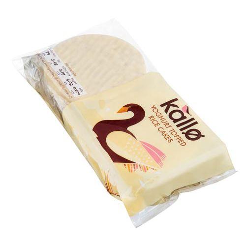 KALLO YOGURT RICE CAKES 100G