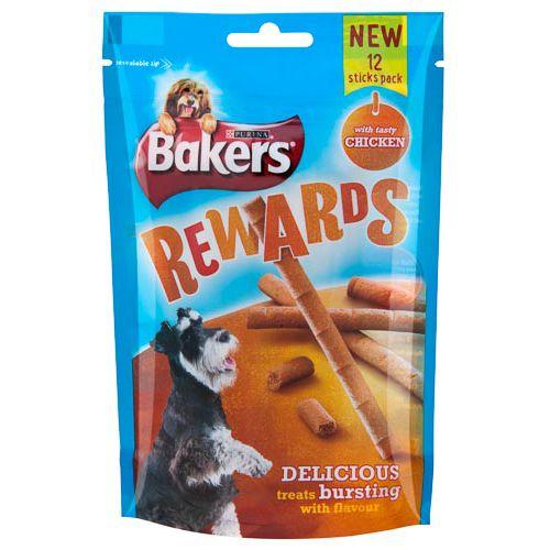 BAKERS REWARDS CHICKEN STICKS 100G
