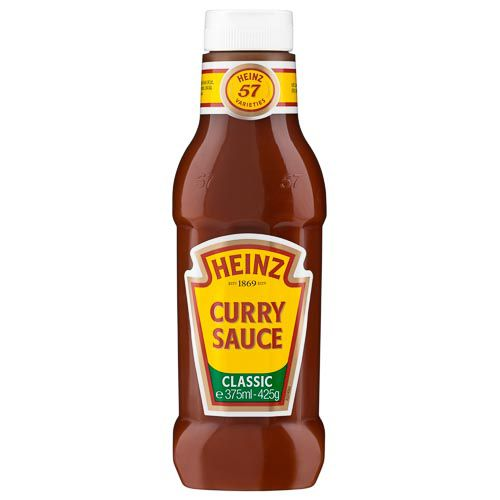 HEINZ CURRY SAUCE 375ML