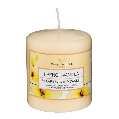 Pillar Candle, French Vanilla