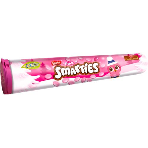 NESTLE PINK SMARTIES GIANT TUBE 150G
