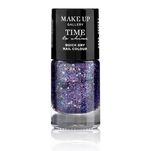 MAKE UP GALLERY TIME TO SHINE NAILS PURPLE GLITZ
