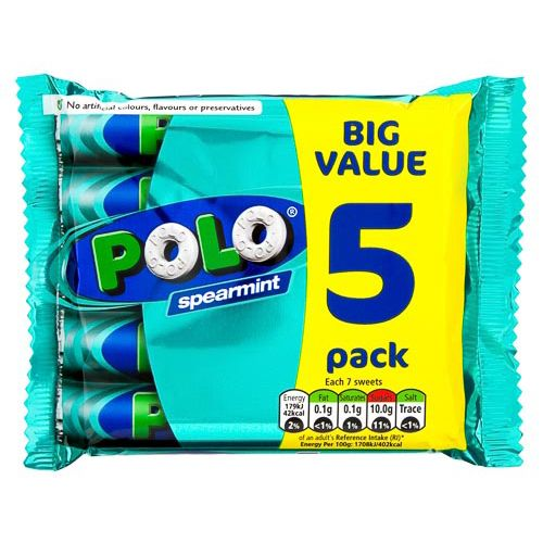 Polo Spearmint 5x25g