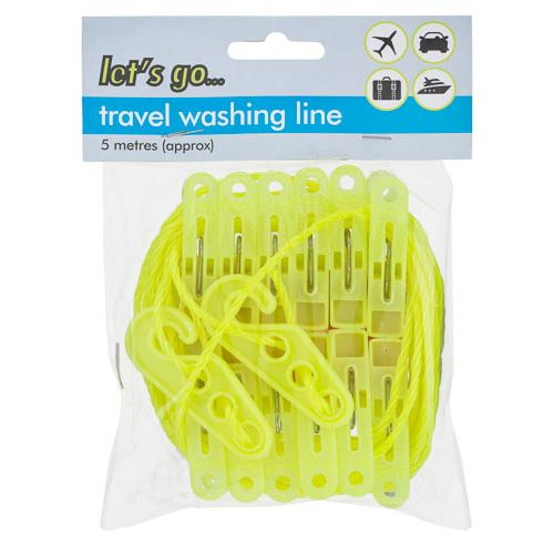 TRAVEL WASHING LINE 5 METRE
