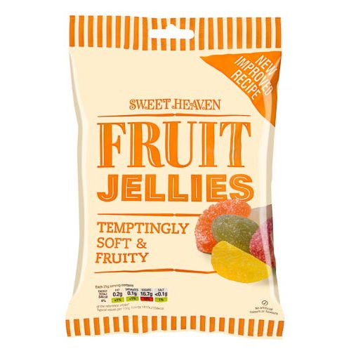 SWEET HEAVEN FRUIT JELLIES 285G
