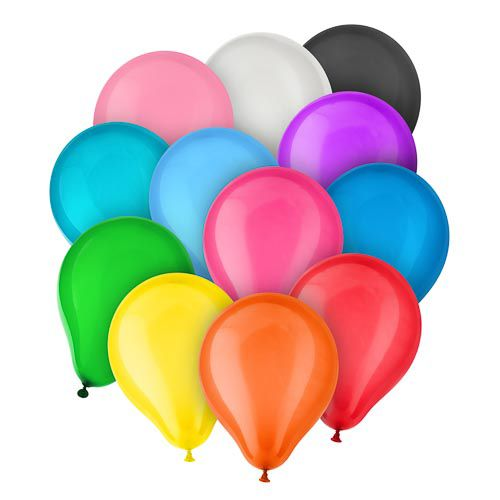 ASSORTED BALLOONS 30 PACK