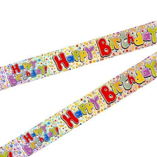 HAPPY BIRTHDAY GENERIC BANNER 2 PACK