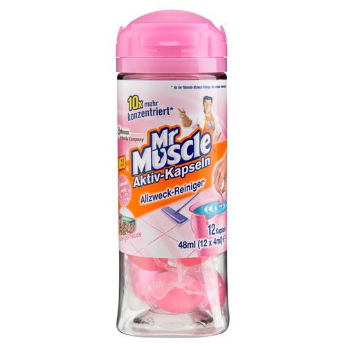 MR MUSCLE FLOOR CAPSULES -  OCEAN SHORE - 12 PACK