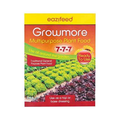 EAZIFEED GROW MORE FERTILIZER 750G