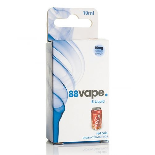 88VAPE E-LIQUID 16MG RED COLA 10ML