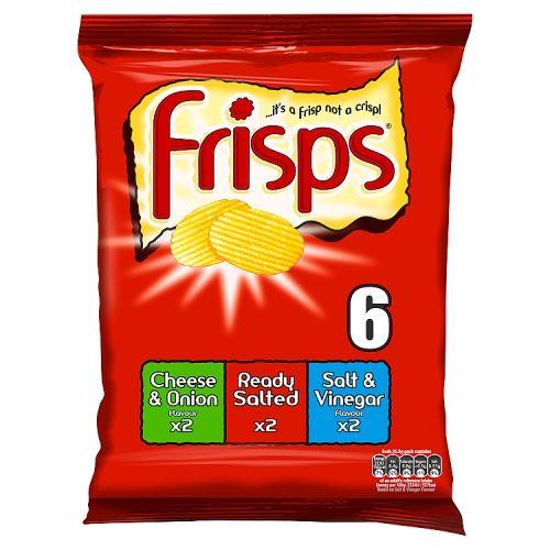 Frisps Assorted 6 Pack
