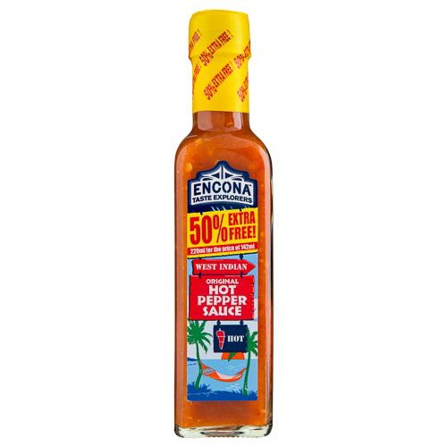 ENCONA HOT PEPPER SAUCE 220ML