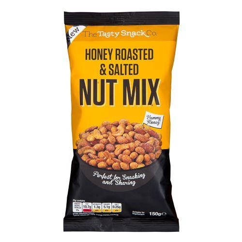 HONEY ROASTED & SALTED NUT MIX 150G