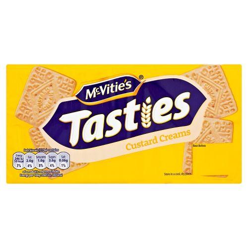 McVities Tasties Custard Creams 300g