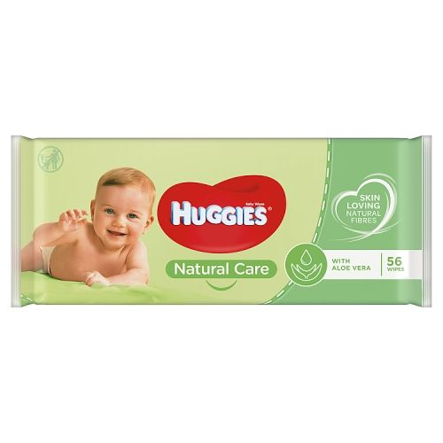 Huggies Natural Care Baby Wipes 56 Pack