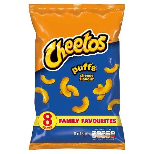 Walkers Cheetos Crisps Cheese 8x13g
