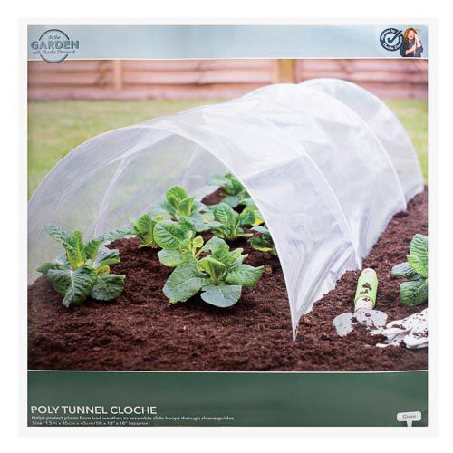 CHARLIE DIMMOCK GARDEN POLY TUNNEL