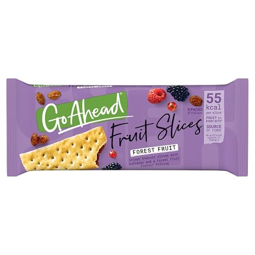 Go Ahead Forest Fruit Slices 5x43.6g