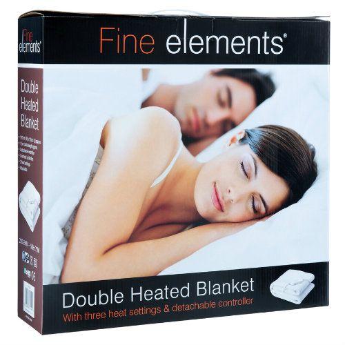 FINE ELEMENTS ELECTRIC BLANKET 120X107CM