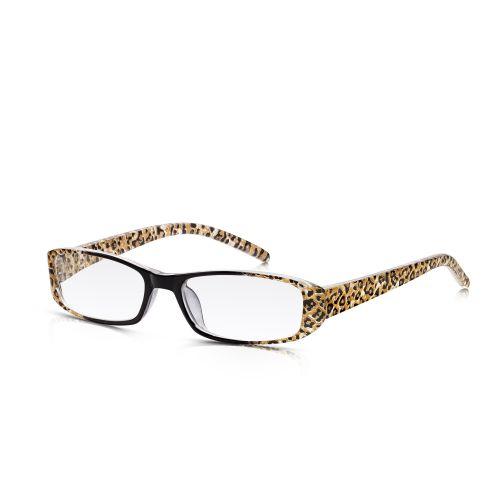 Leopard Plastic Frame Reading Glasses +1.50