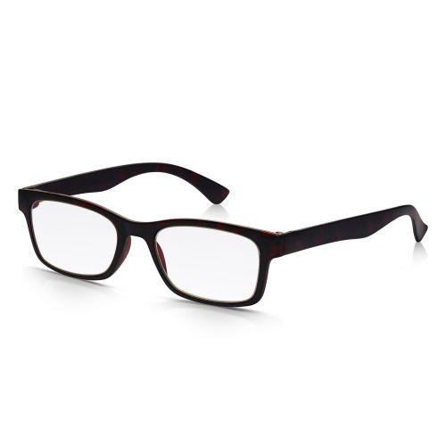 Black Plastic Reading Glasses +1.25