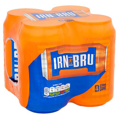 IRN BRU 4 X 330ML