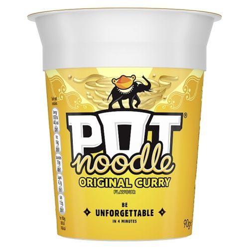 POT NOODLE SPICY CURRY 90G