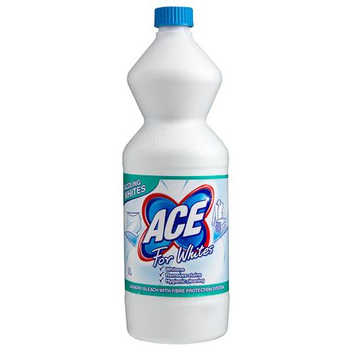 Ace For Whites Laundry Bleach 1l