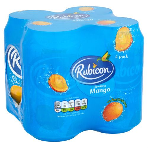 RUBICON MANGO 4X330ML
