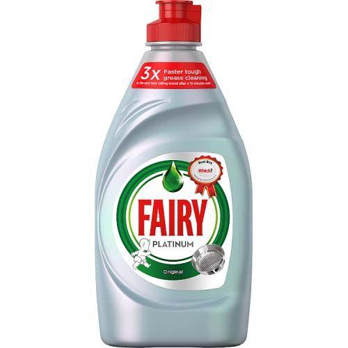 Fairy Platinum Washing Up Liquid Original 383ml