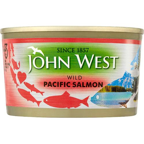 JOHN WEST WILD PACIFIC SALMON 213G