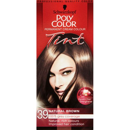 POLY COLOUR NATURAL BROWN 39