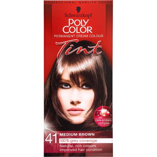 POLY COLOUR MEDIUM BROWN 41