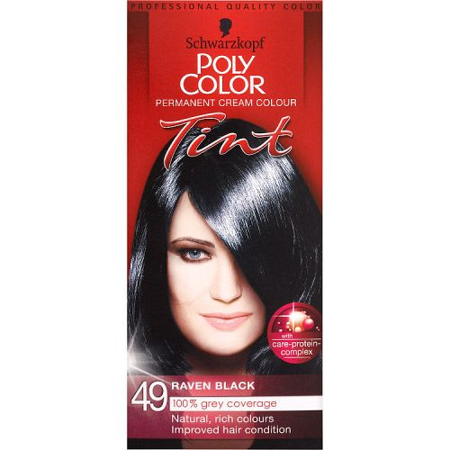 POLY COLOUR RAVEN BLACK 49