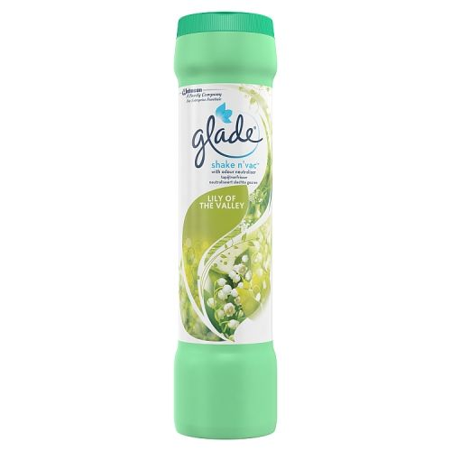 GLADE SHAKE AND VAC LILY OF THE VALLEY 500G