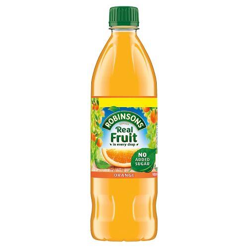 Robinsons Orange Squash No Added Sugar 900ml