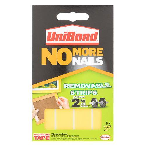 Unibond No More Nails Strips