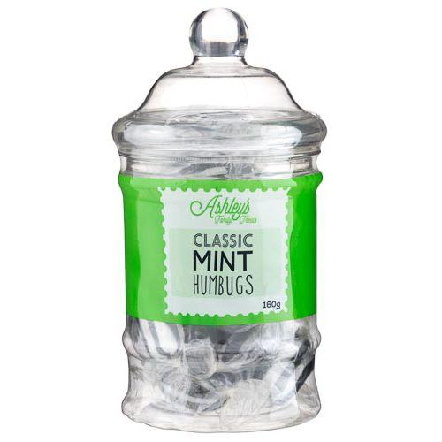Ashley's Mint Humbugs Jar 160g