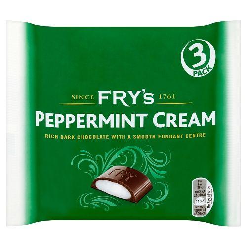 Fry's Peppermint Cream 3x49g